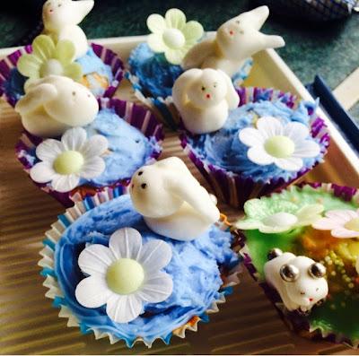 Happy Feaster Peter Rabbit Cupcakes #tastytales