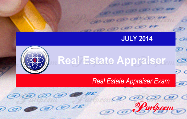 July 2014 Real Estate Appraiser Exam Results