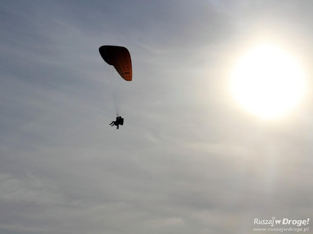 Lot widokowy paralotnią w Borsku