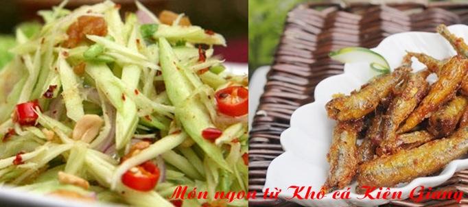Món ngon từ Khô cá Kiên Giang