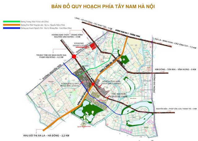 Tây Nam Hà Nội