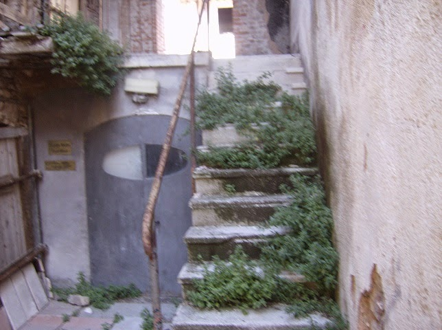 Sant'Eraclio: Casa Castellana con erbacce