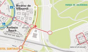El nuevo parque de Valdebebas -Parque Felipe VI- abre al público el 25 de Marzo