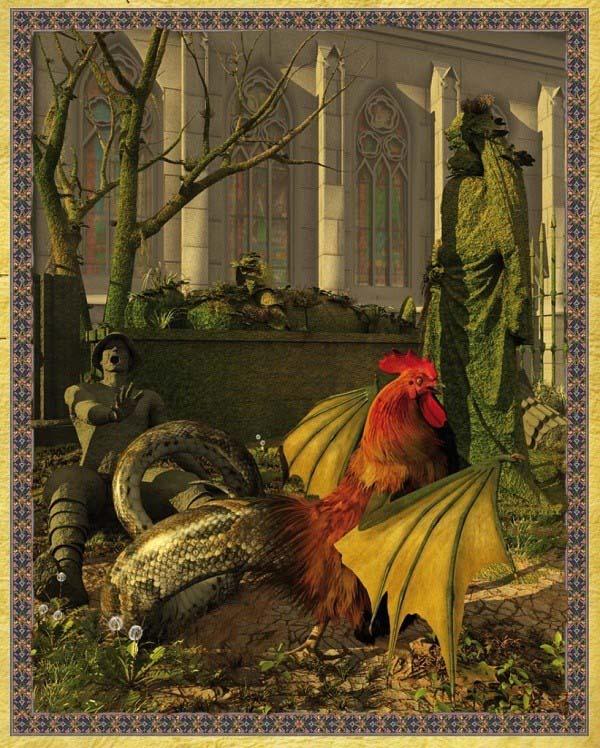 Đi tìm nguồn gốc những ác thú bí ẩn trong thần thoại