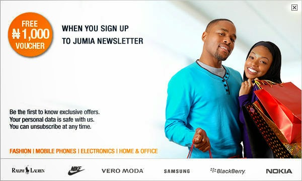 How to get 1000# free voucher from jumia