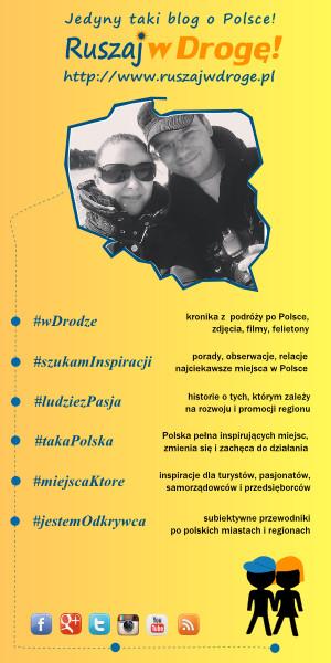 Ruszaj w Drogę - podróże i ciekawe miejsca w Polsce