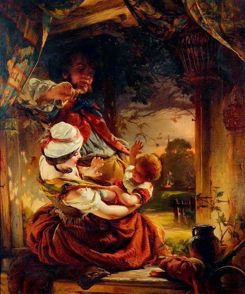 Daniel Maclise - Cottage Group