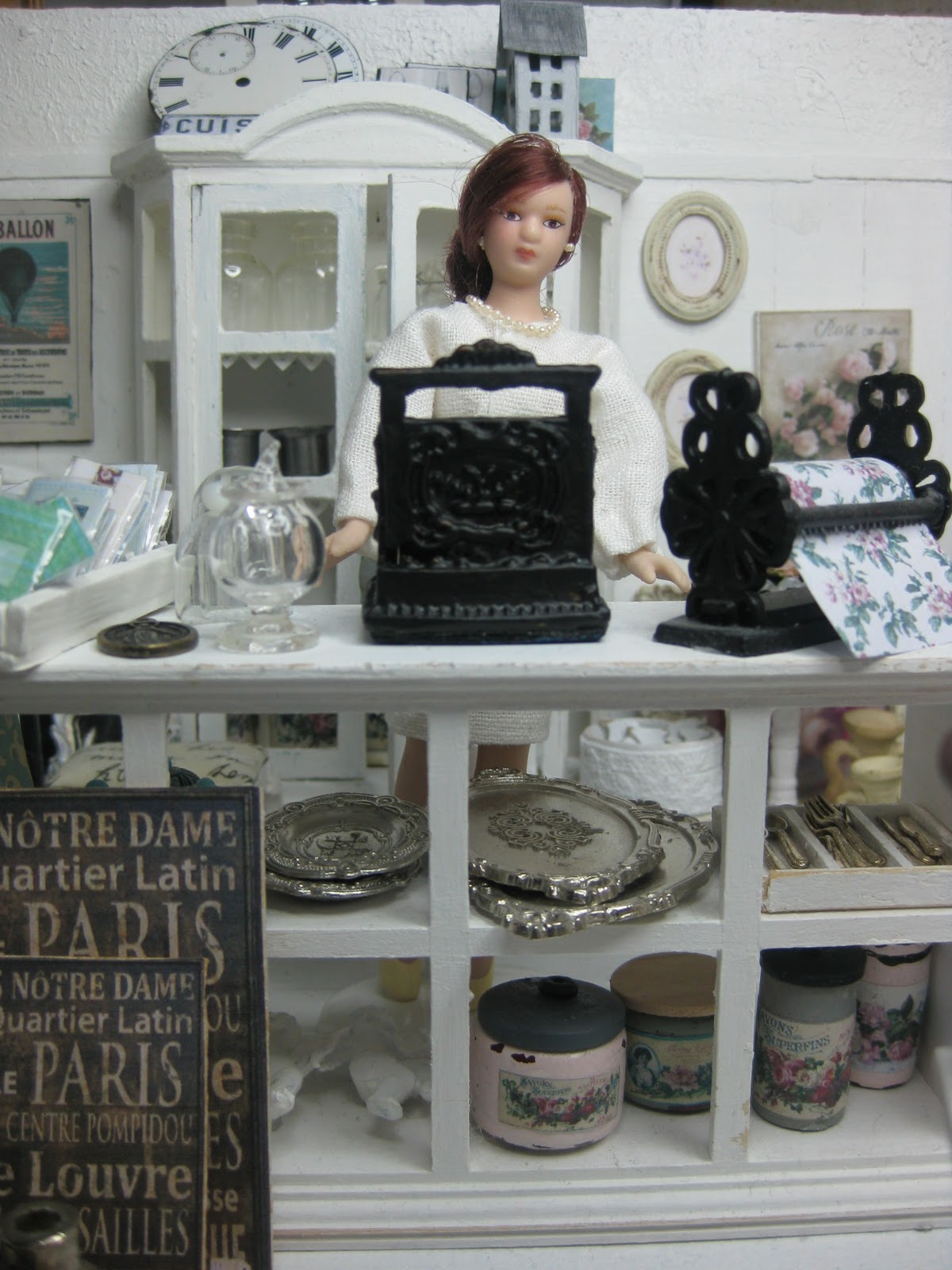 miniatyrmama the shabby chic shop. Black Bedroom Furniture Sets. Home Design Ideas