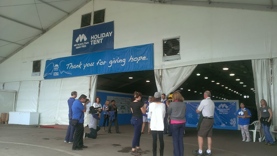 IMAG3809 Metropolitan Ministries Holiday Tent: Hope Lives Here