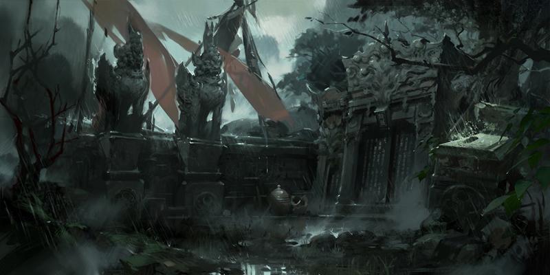 Loạt concept art khá đẹp mắt của Đấu Chiến Thần - Ảnh 9