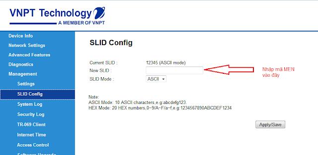 SLID Config