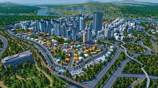 Cities Skylines Free CODEX Assets Mods And Save v3 - Game Screenshot