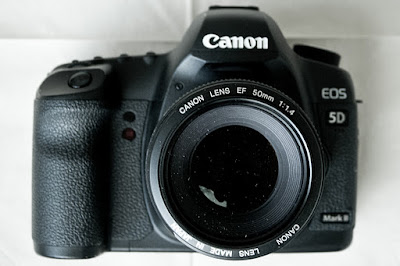 Canon 5D MkII mit EF 50mm 1:1.4