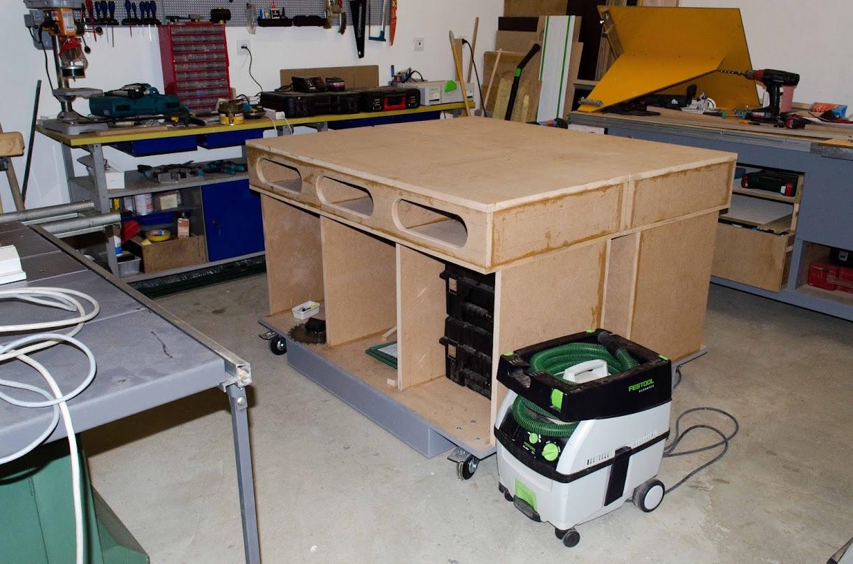 Table d'assemblage + porte systainer DIY [Terminé] - Page 4 _DSC2209