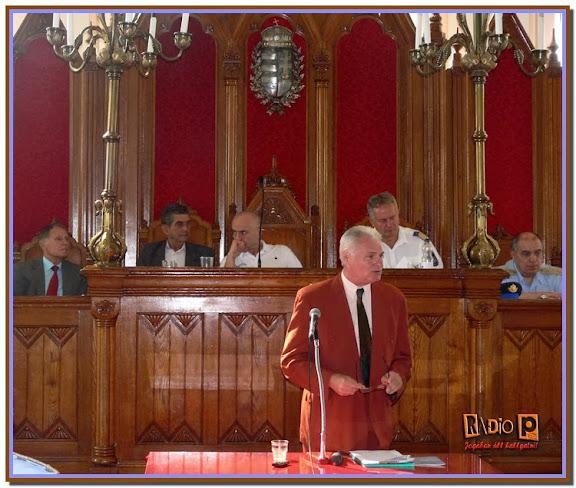 Dr. Hegedűs György, a BPSZ elnökhelyettese értékeli a fővárosi polgárőrök  100x100 Biztonság projektben nyújtott teljesítményét