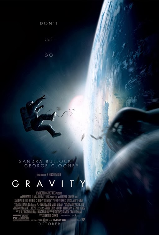 Poster Of English Movie Gravity (2013) Free Download Full New Hollywood Movie Watch Online At Alldownloads4u.Com