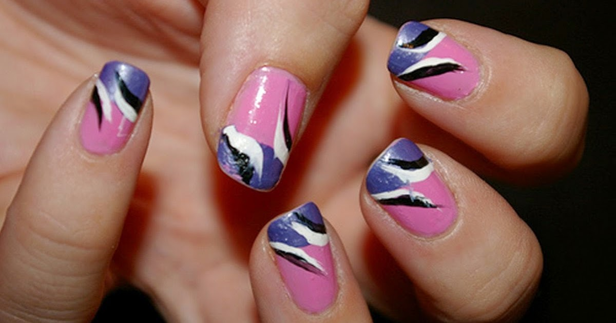 Nail Design Art At Home