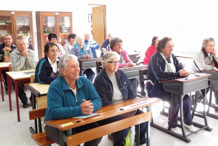 Seniores regressam às aulas no Museu Pedagógico de Lamego