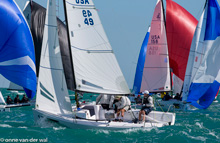 J70 one-design speedsters- sailing Key West Race Week