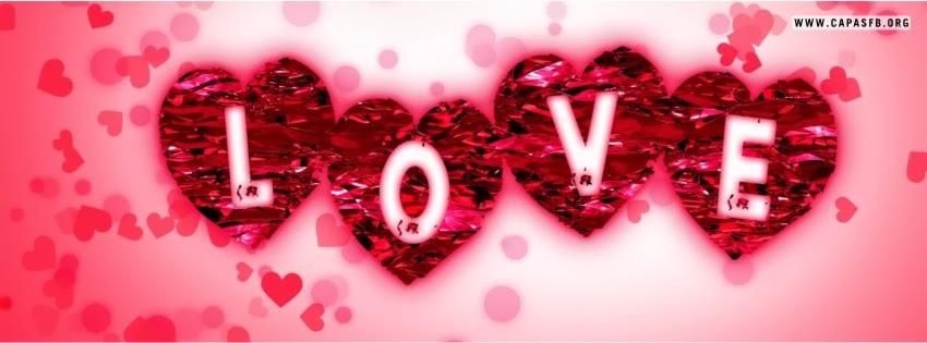 Capas para Facebook Love
