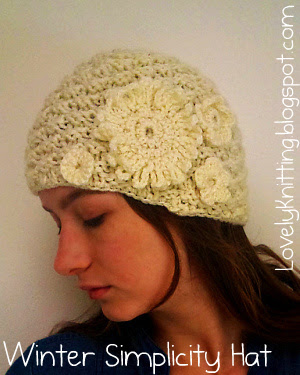 Knitted Winter Simplicity Hat