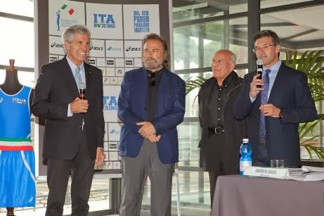 Ad Assisi Franco Nero e le 3 Medaglie Mondiali 2013 Guest Star