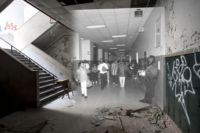 *Detroit Now And Then:極度詭譎昔日影像交錯重疊! 18