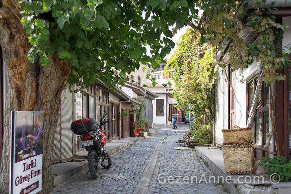 Beypazarı çarşısının arka sokakları