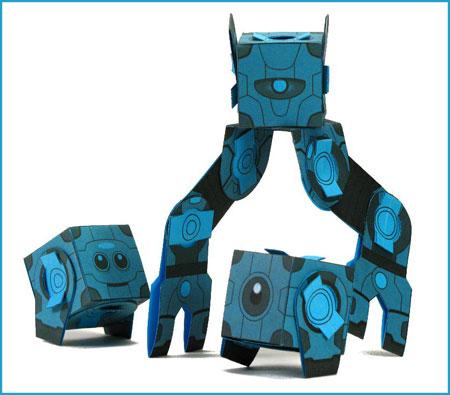 VKTR GBEE Poplock Paper Toy