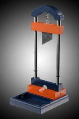 guillotine business card holder