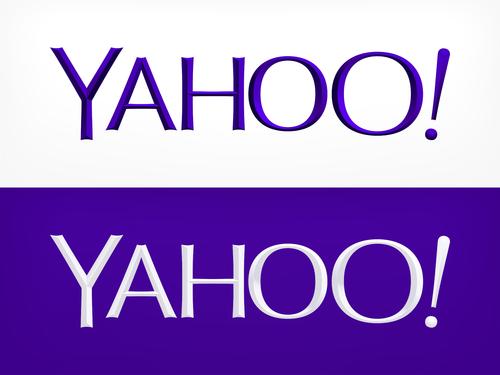 Yahoo新Logo設計款正式啟用!!