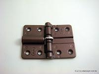 裝潢五金 品名:G7461-輕型摺門彈簧活頁 規格:50*70MM 顏色:咖啡色 玖品五金