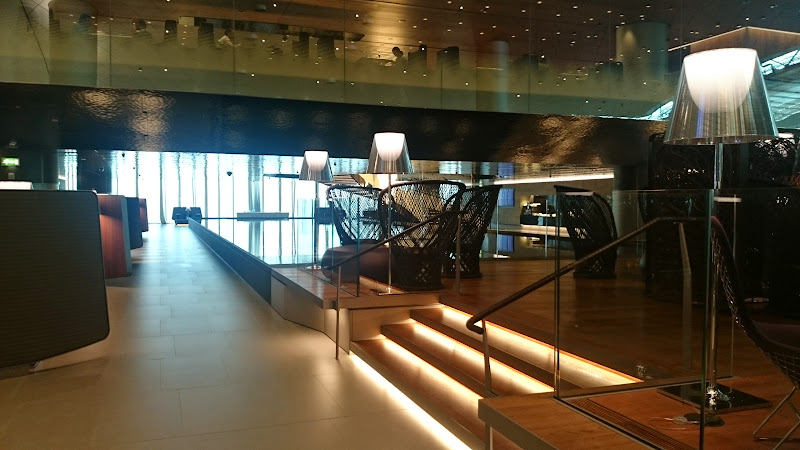 DSC 5010 - REVIEW - Qatar Al Mourjan Business Class Lounge, Doha (September 2014)