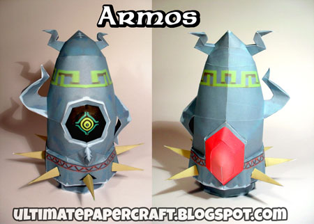 The Wind Waker Armos Papercraft