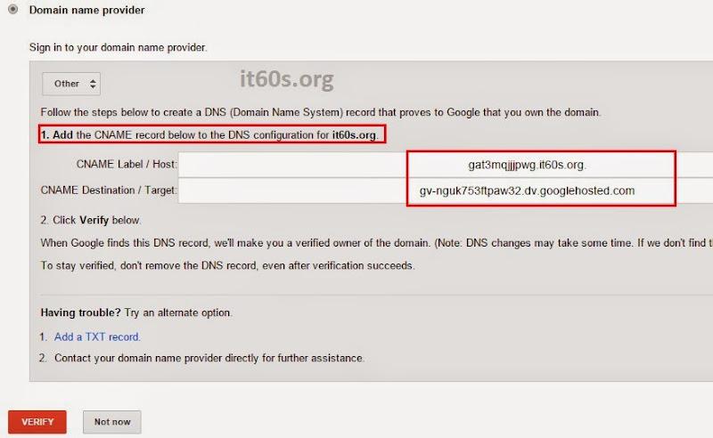 Cách xác minh Website Wordpress trong Webmaster tools 11