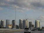 Von der Ostküste Floridas ging es an die Westküste - hier im Bild ist Tampa