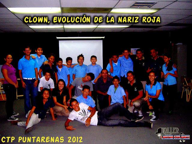 Charla en el CTP Puntarenas