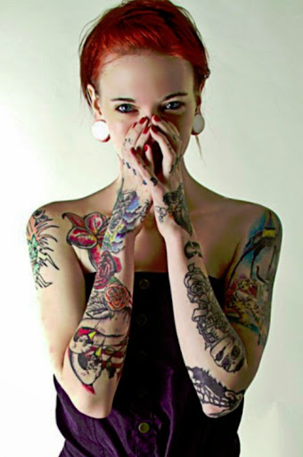arm tattoos for girls