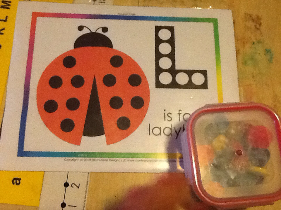 Ladybug magpage from Confessions of a Homeschooler title=
