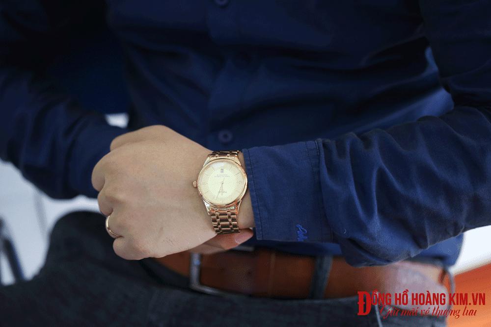 Địa chỉ bán những mẫu đồng hồ nam dây sắt đẹp nhất vịnh bắc bộ - 24