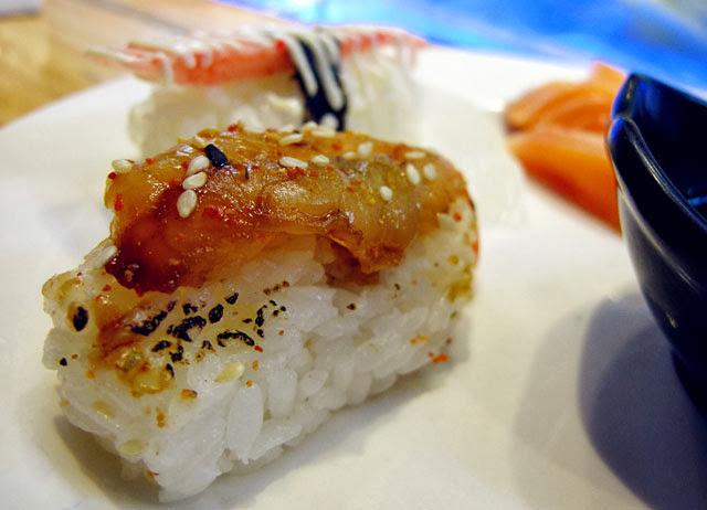 炙燒鮭魚握壽司-上閤屋台中復興店