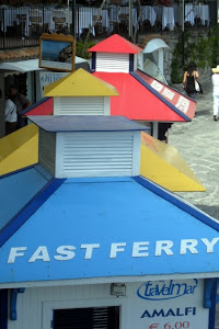 Ferry Booths in Positano