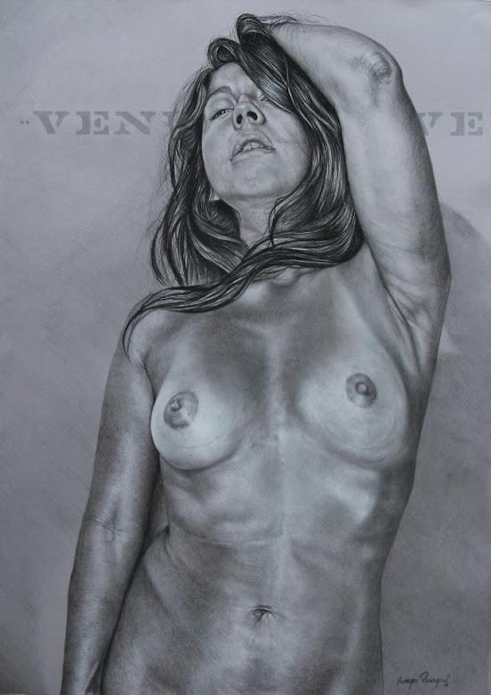 Venus dibujo de Alberto Penagos