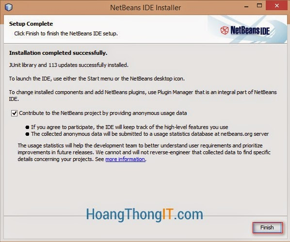 Cài đặt Netbean