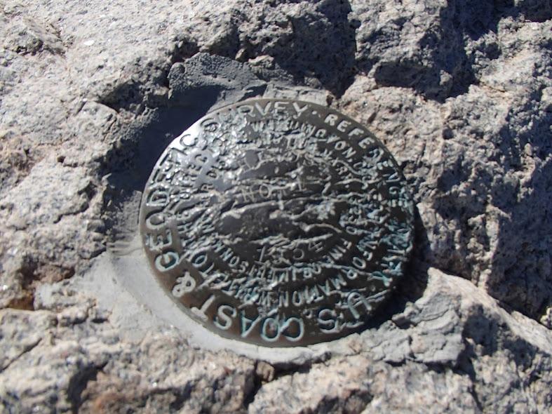 U.S. Cost & Geodetic Survey Marker 1934 Emory Peak Big Bend National Park