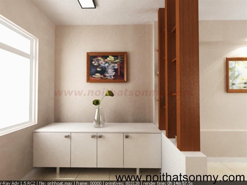 Mẫu thiết kế nội thất phòng khách 327