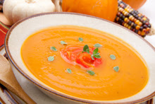 Light Butternut Squash Soup