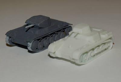 Panzer I & II