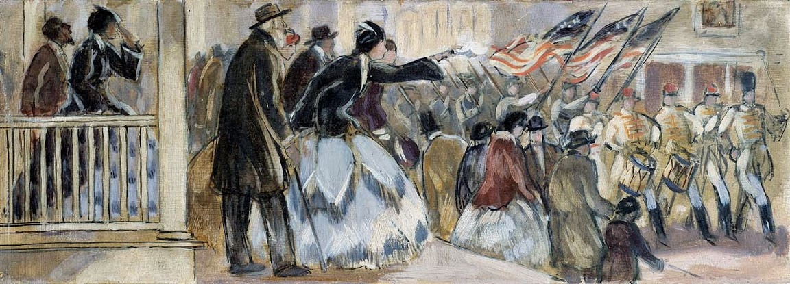 Gifford Beal - Departure of the Jordan Rifles