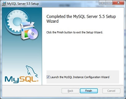 MySQL server installation steps for Windows 7